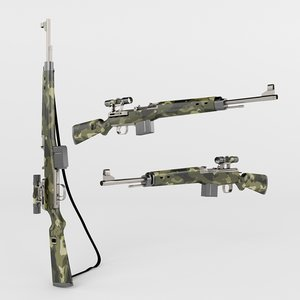 3d hunting weapon