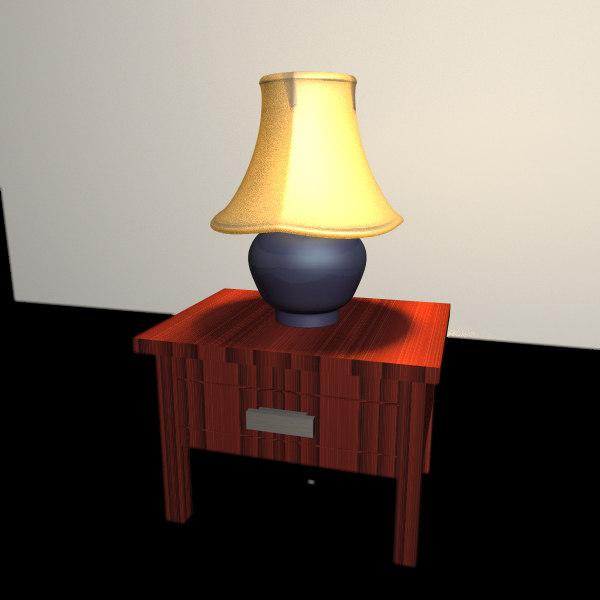 3d lamp working lights