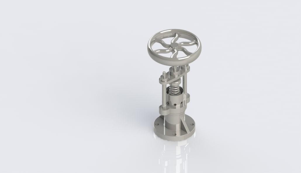 pressure valve 3d 3ds