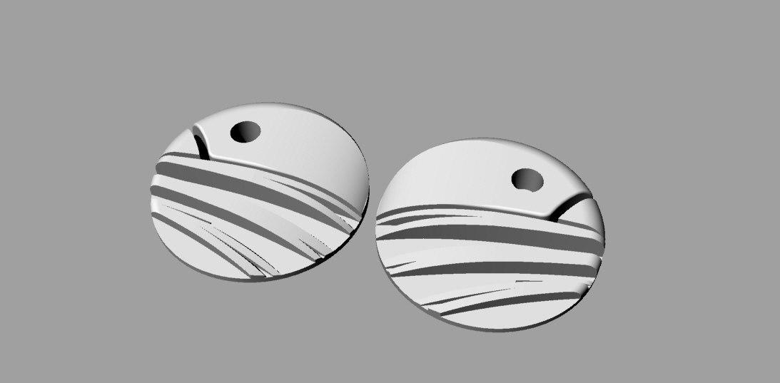 3dm cnc bird button