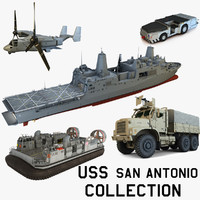 USS San Antonio Collection