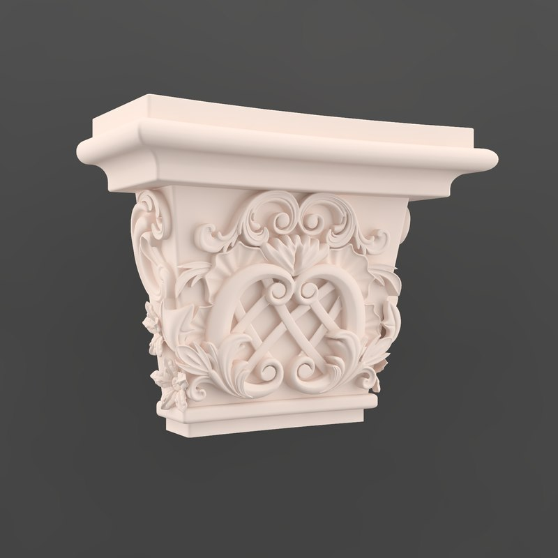 3ds pilaster