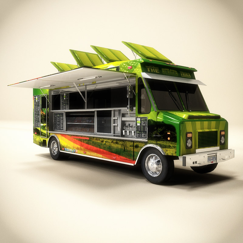 3d food truck for Food truck design software