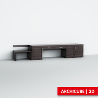 table set 3d max