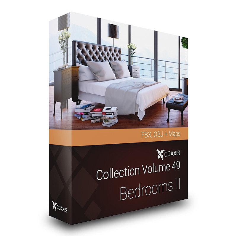 3d obj volume 49 bedrooms beds