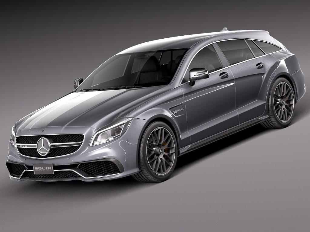 3d model 2015 mercedes benz cls for Mercedes benz 2015 models