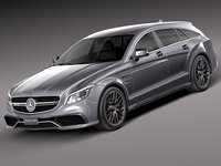 Mercedes-Benz CLS63 AMG Shooting Brake 2015