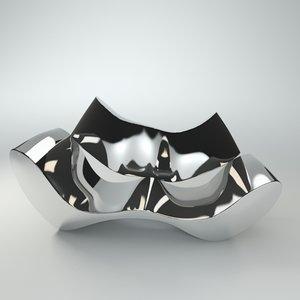 europa ron arad sofa 3d model