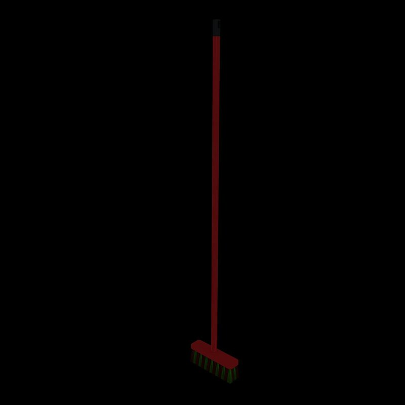 3d broom plastic 3 model