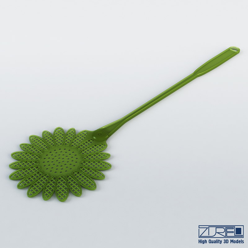 3ds max fly swatter
