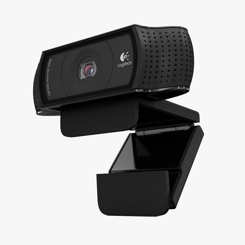 3d max webcam logitech hd pro
