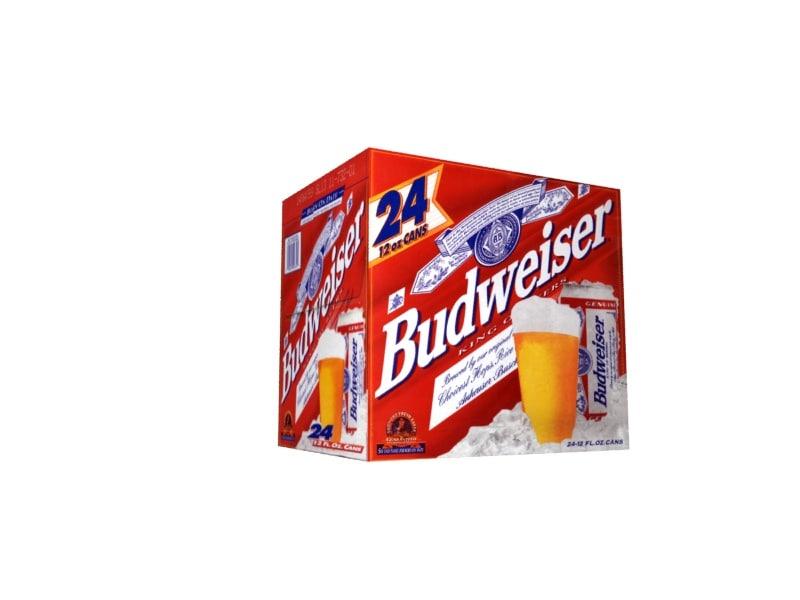 3d budweiser case