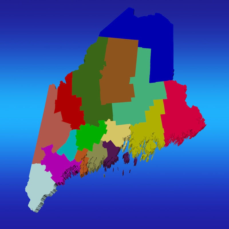 counties maine max