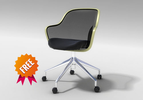 free 3ds model armchair chair