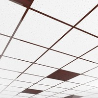 office ceiling tileable pattern 3d max