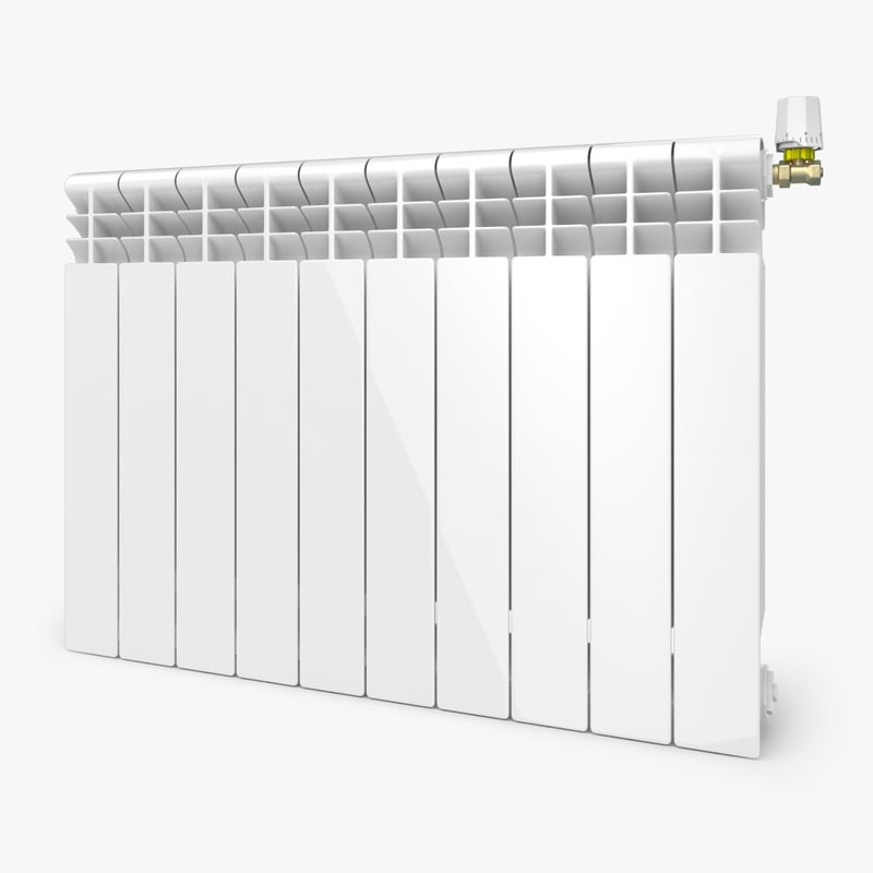 modern radiator 3d model