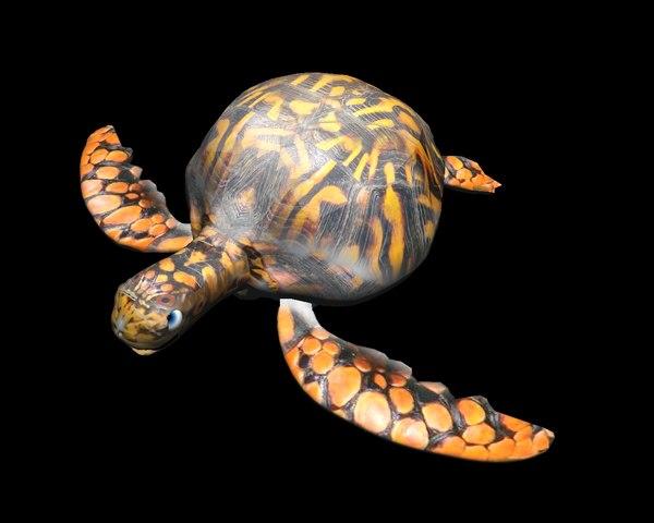 turtle 3d 3ds