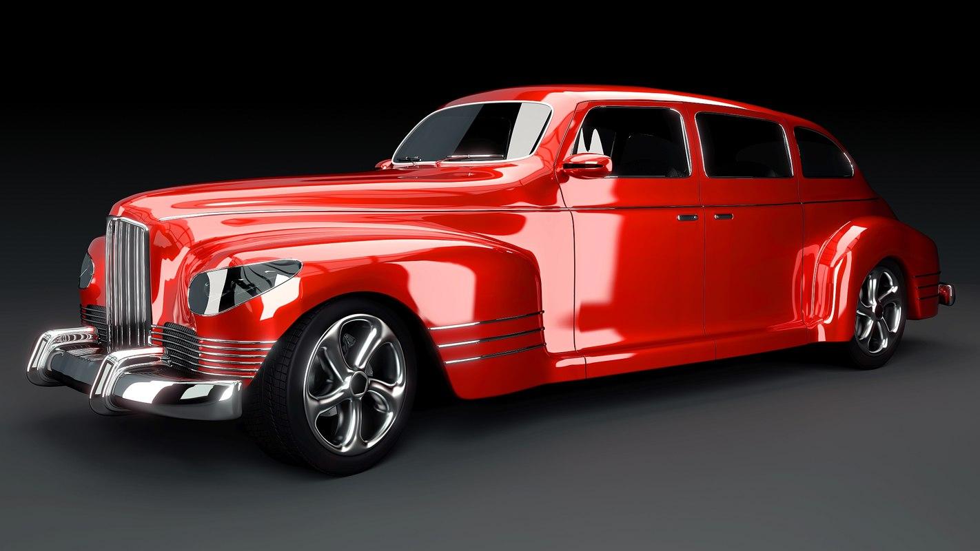 3ds max oldtimer stiled car