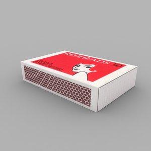 match box 3d model