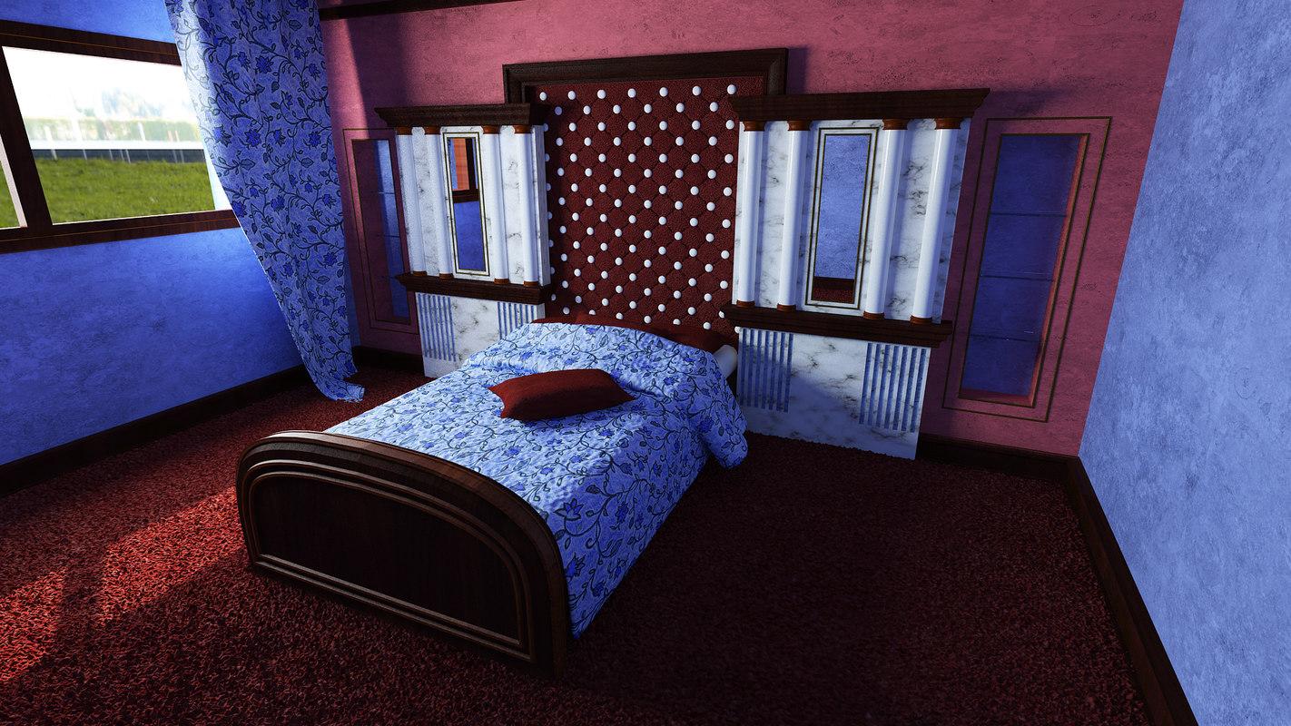 maya bed wall decoration