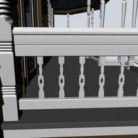 3d decorative baluster