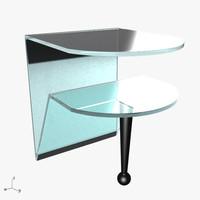 3d brillo coffee table model