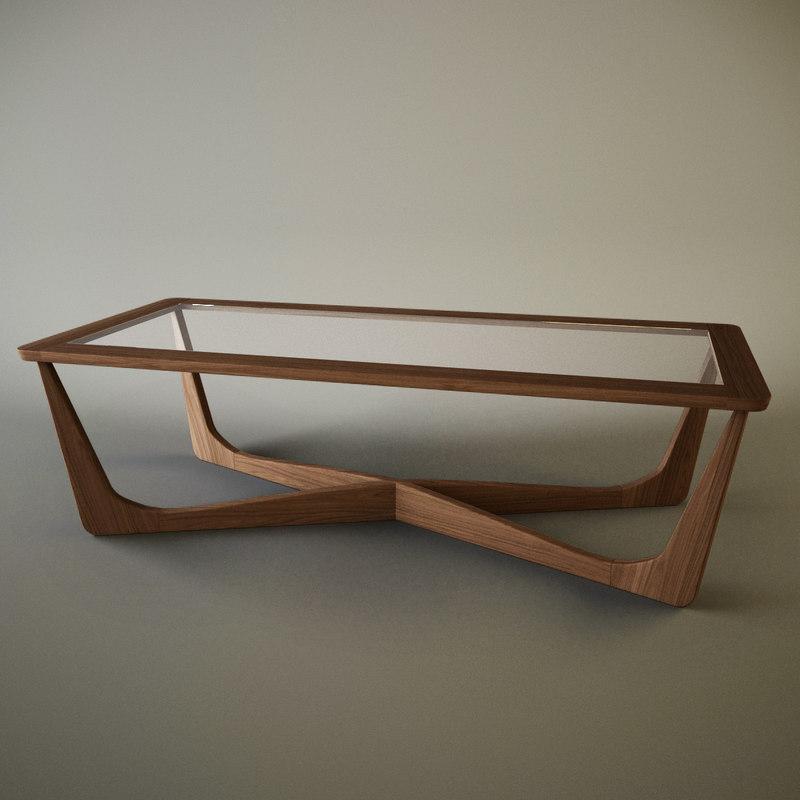 3d custom coffee table