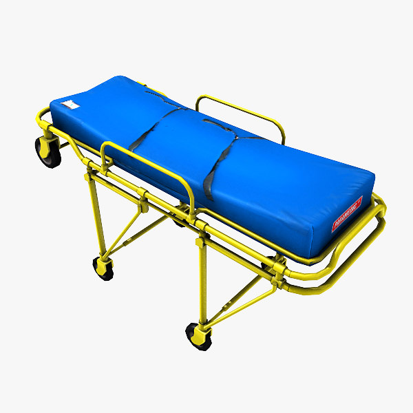 rolling medical stretcher max