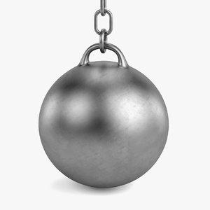3ds max destruction ball