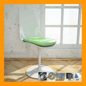 vencedores premio mobis chair materials 3d model