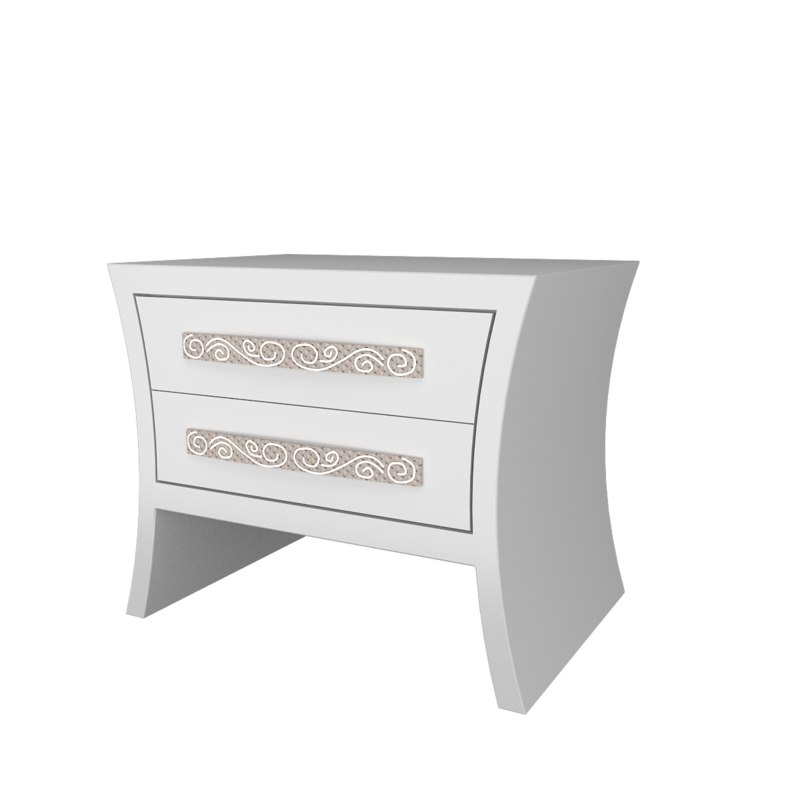 3d model nightstand bedside table