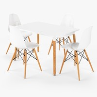 DSW Dining Table Set