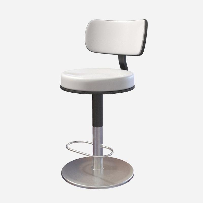 3d casino chair model