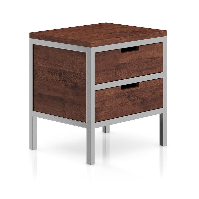 3d wood wooden metal model