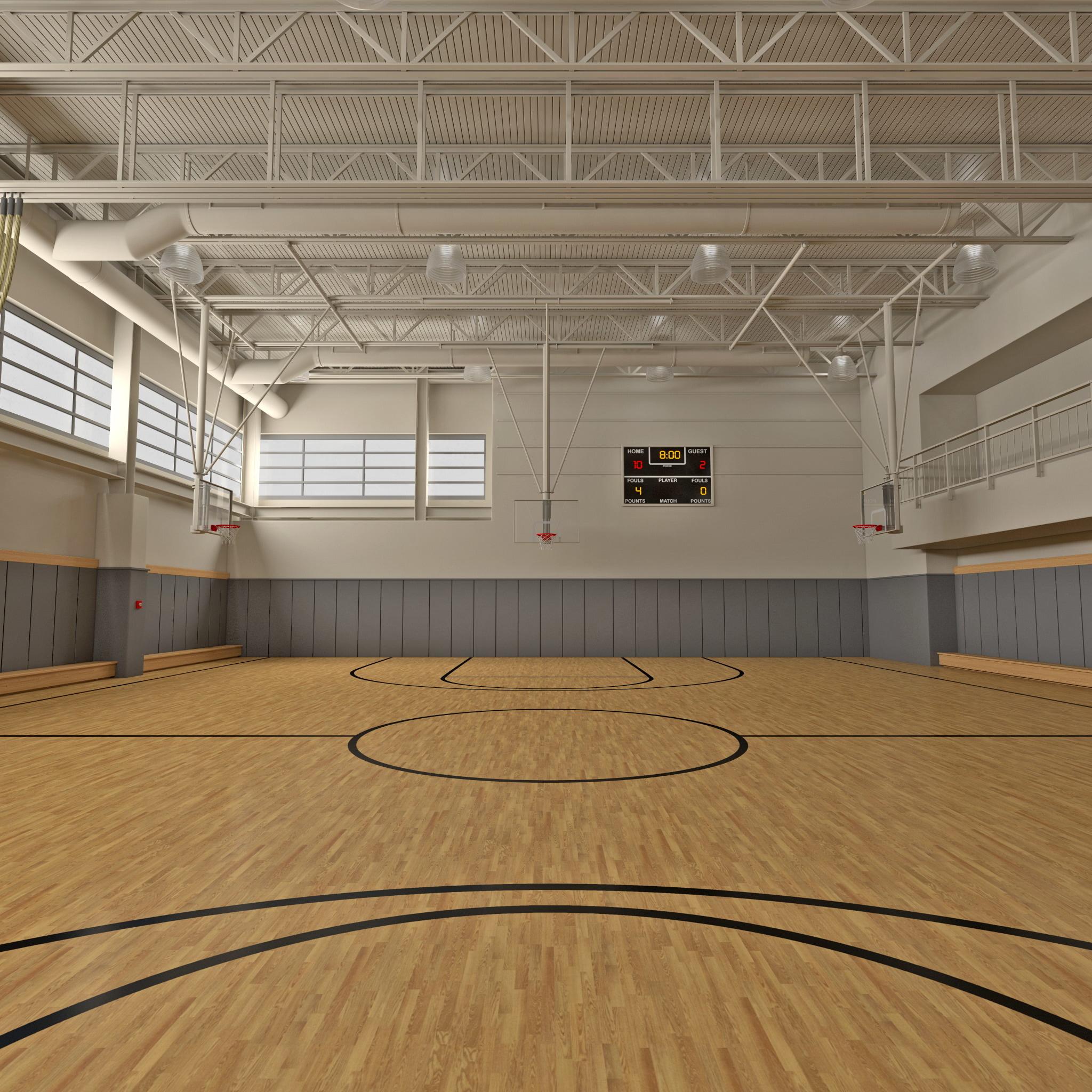 basketball gym max