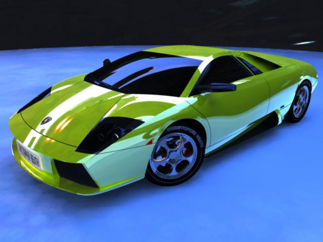 maya vehicle sports car