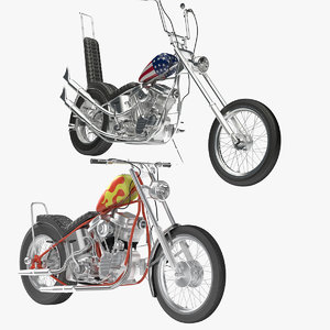 3d model billy bike easy rider