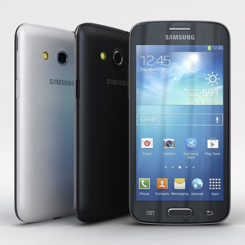 3d 3ds samsung galaxy core lte