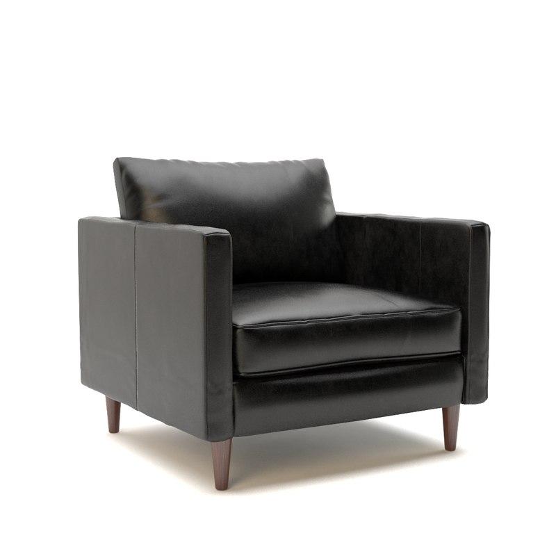 modern armchair sofa design 3d