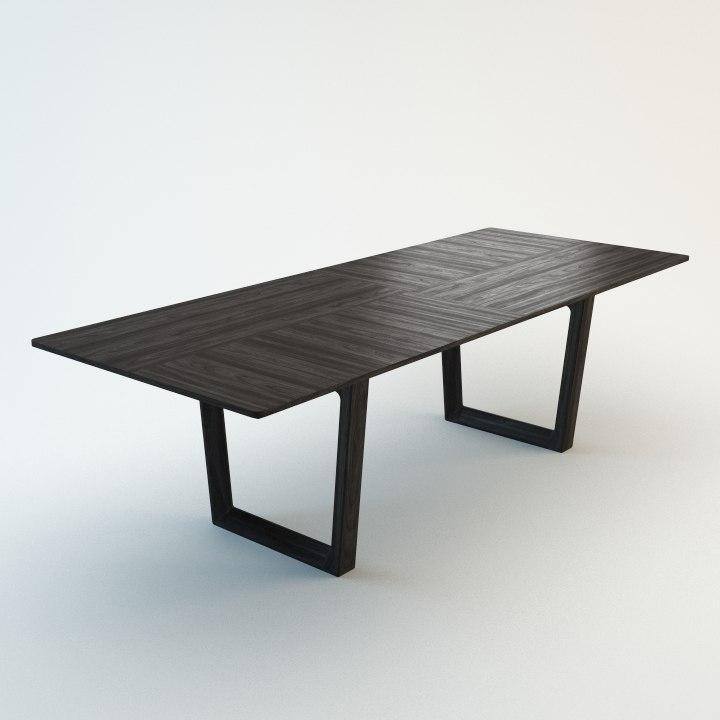 bolero table 3d model