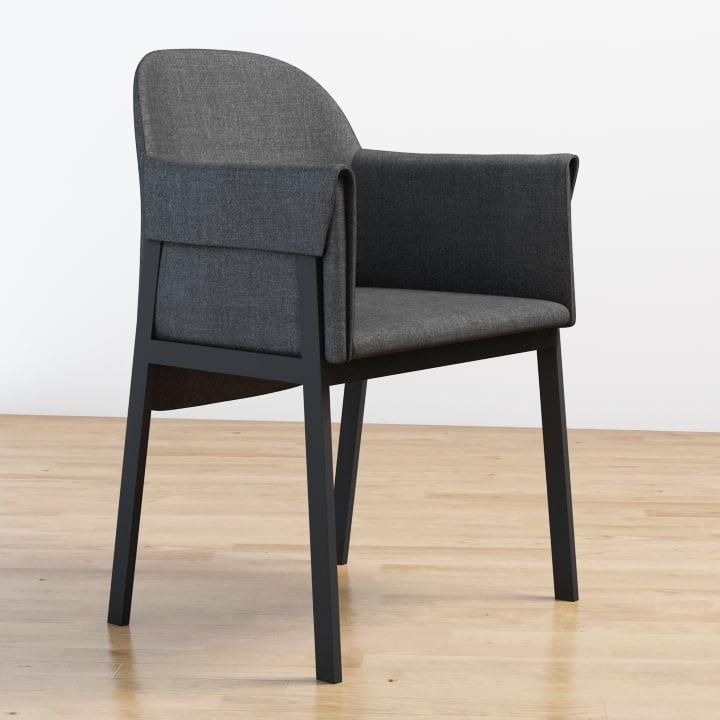 3d model grace chair