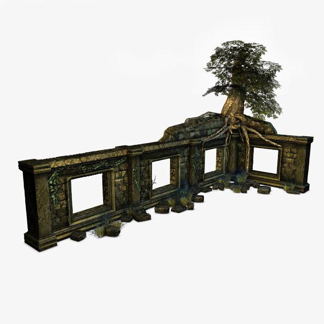 3ds max jungle ruins