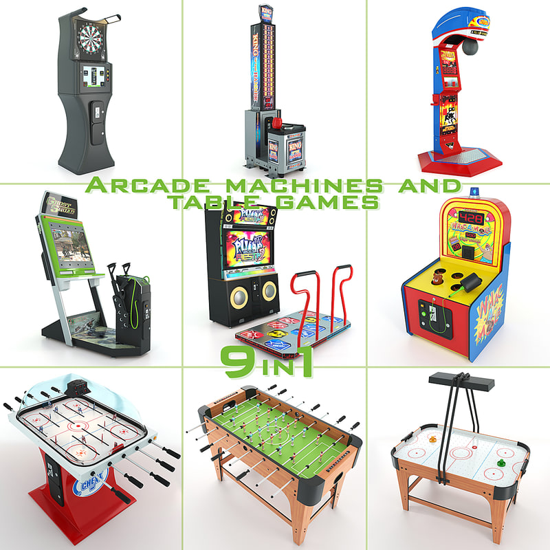 arcade machines table games max