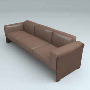 cassina 405 duc sofa 3d max