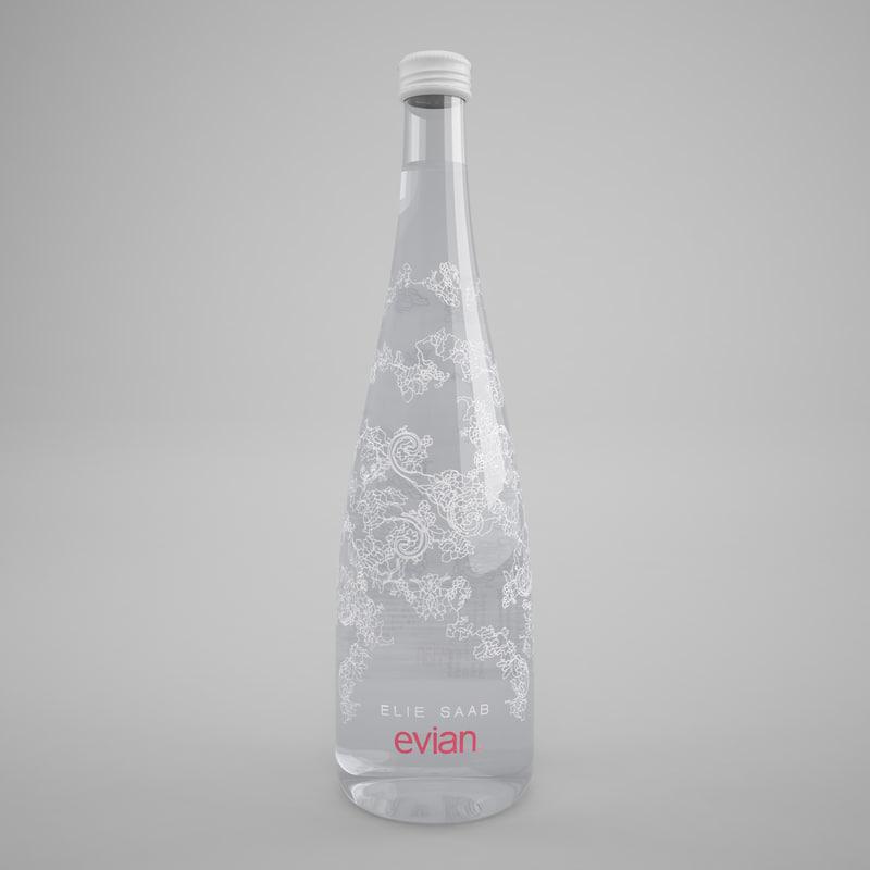 max evian elie saab bottle