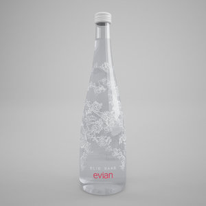 max evian elie saab bottle