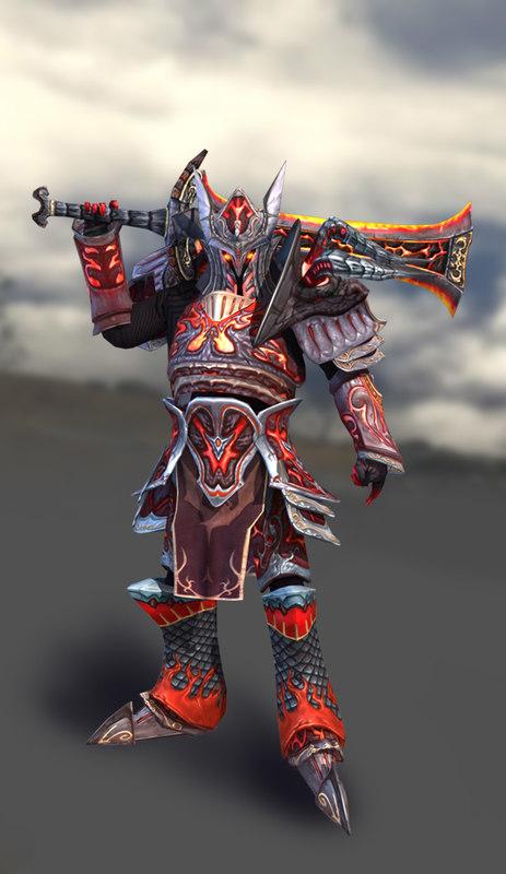 fantasy dragon knight 3d max