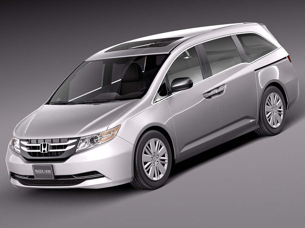 3d model of honda 2014 odyssey