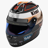 Racing Helmet Mercedes