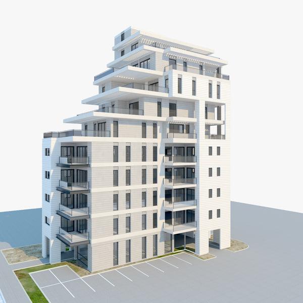building amir 3d model